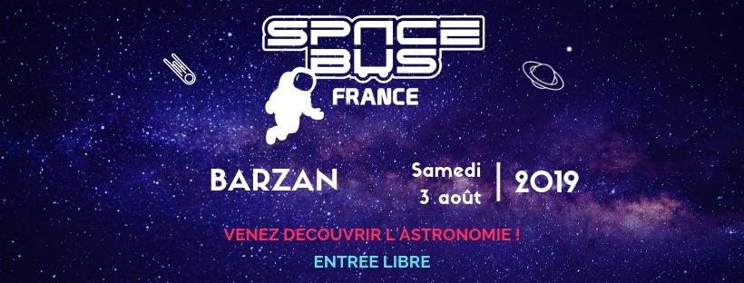 SpaceBus France à Barzan