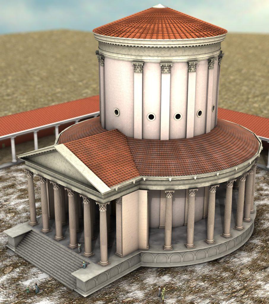 Vue 3D Temple Site du Fâ