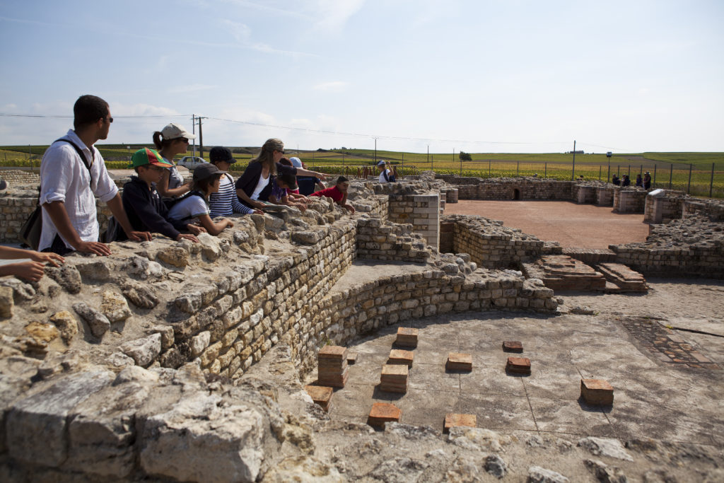 Visite guidée thermes - Site du Fâ