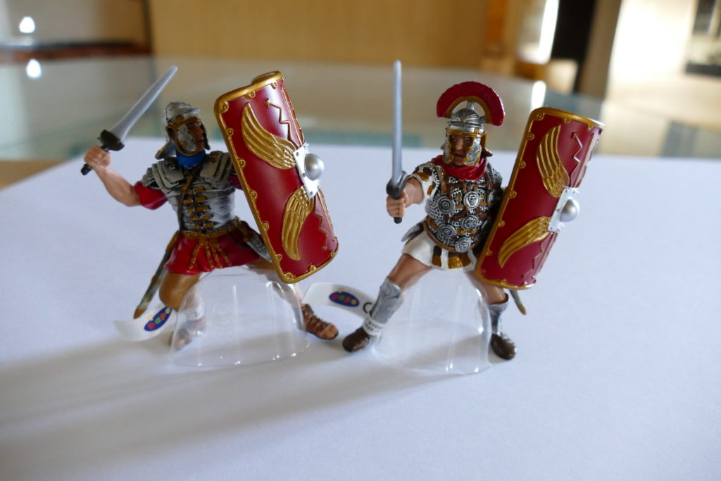 Figurines gladiateurs romains Fâ Barzan