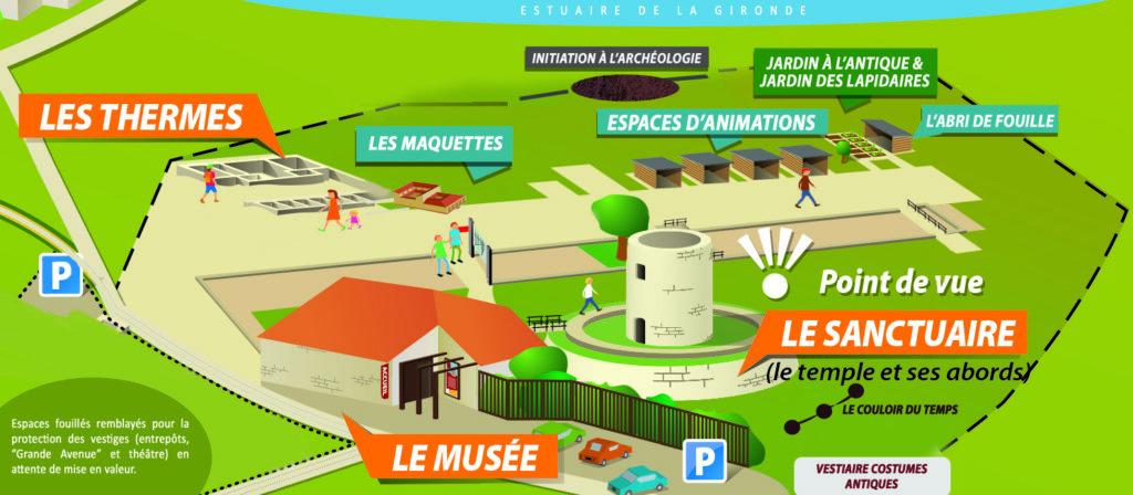 Plan général site du Fâ