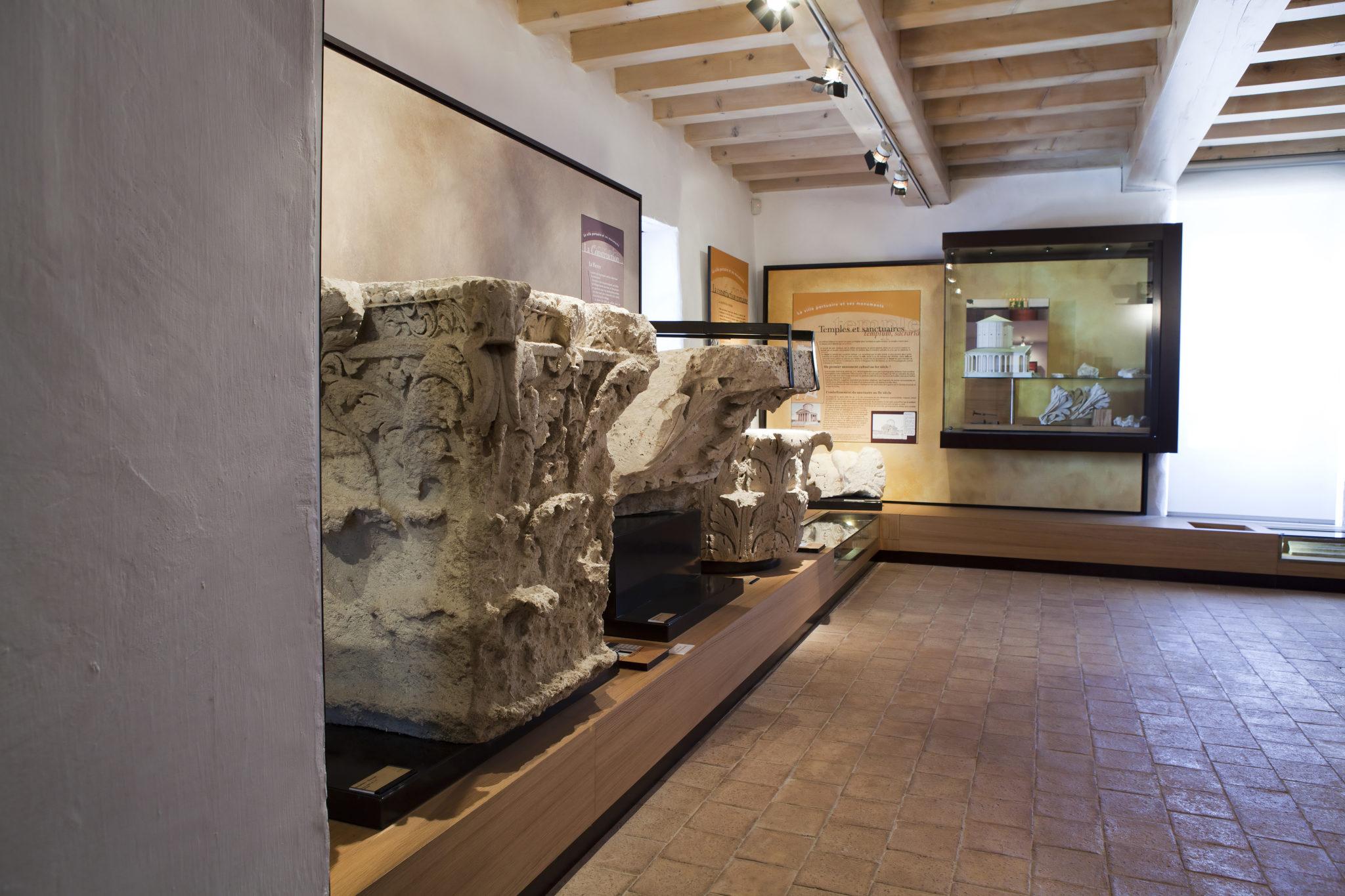 Salle de l'architecture et les monuments - Musée - Site du Fâ