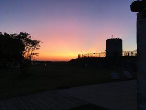 Site coucher de soleil